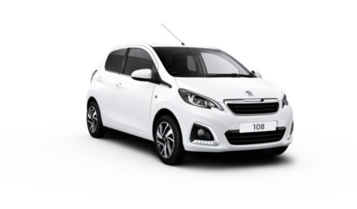 Pre-Reg Peugeot 108 Allure 5dr 1.0 72 in Diamond White – EO69OVL